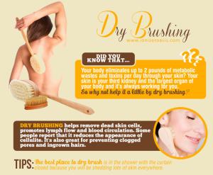 dry-brushing