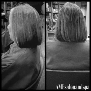 "Clean ""Lob"" Haircut by Designer Director, Beth"